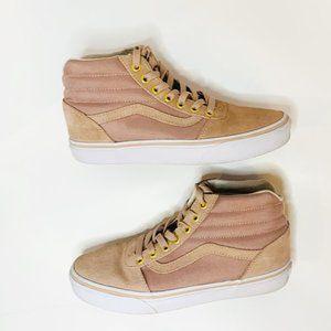 Vans Pink/Blush SK8 Hi Tops Skate Sneakers